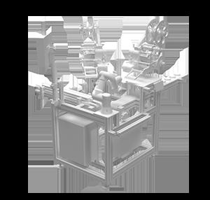 Etiqueteuse Automatique Robot Collaboratif – Modèle BR 515r